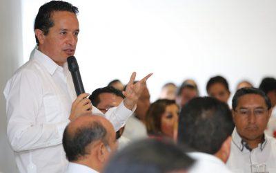 Mensaje del Gobernador Carlos Joaquín, en Chetumal, durante el desayuno con motivo del 37 aniversario del Colegio de Contadores Públicos de Quintana Roo A.C.