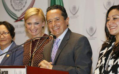 Juntos por Quintana Roo, legisladores y gobierno: Carlos Joaquín