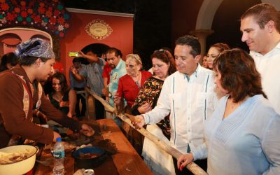 La cultura será instrumento de inclusión, cohesión social e identidad regional: Carlos Joaquín