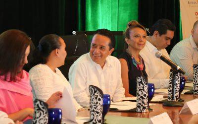 """((AUDIO)) Mensaje del Gobernador Carlos Joaquín en la presentación del """"Arranque de Certificación Riviera Maya Sustentable""""."""