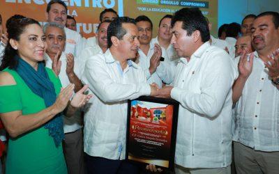 ((FOTOS)) Un mejor desempeño y calidad educativa que beneficie a la gente: Carlos Joaquín