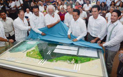 """((FOTOS)) Carlos Joaquín asiste a la Presentación del Proyecto """"Parque Cancún"""" en el planetario Ka´Yok', en Cancún."""