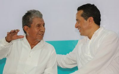"""((AUDIO)) Mensaje del Gobernador Carlos Joaquín en el U MUU´CH´ TABAL LAA ´TZILOO´B"""", Encuentro Entre Hermanos en Felipe Carrillo Puerto."""