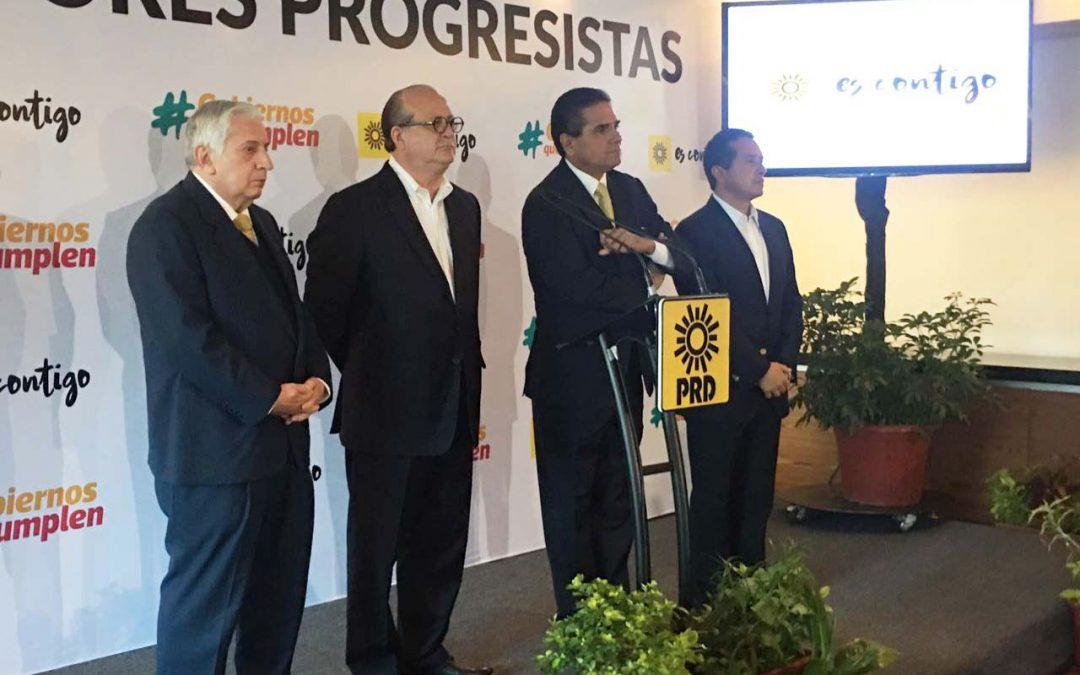 ((VIDEO)) Atención a medios del Gobernador Carlos Joaquín en Ciudad de México, posterior a la reunión con los gobernadores de Morelos, Michoacán y Tabasco.