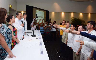 ((AUDIO)) Mensaje de Carlos Joaquín en la toma protesta de la mesa directiva de la Asociación de Hoteles y Moteles de Cozumel.