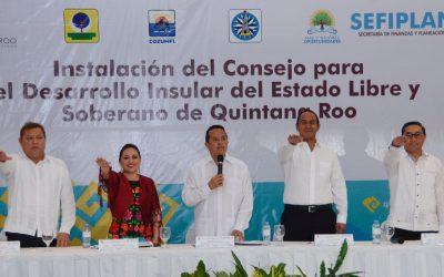 ((VIDEOS)) Mensaje del Gobernador Carlos Joaquín durante la instalación del Consejo para el Desarrollo Insular