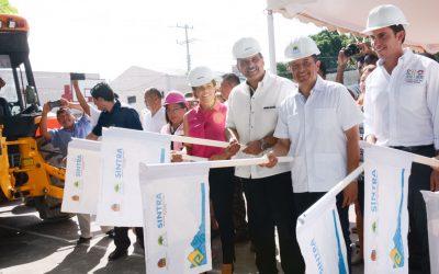 ((VIDEOS)) Mensaje  del Gobernador Carlos Joaquín durante el banderazo de inicio de la construcción de domos en Cancún.