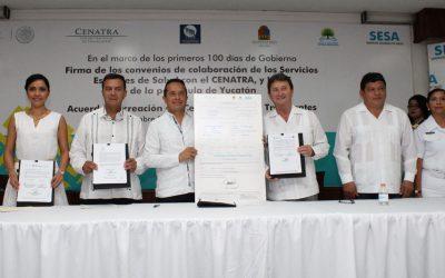 ((AUDIO)) Mensaje del Gobernador Carlos Joaquín en el evento de firma del Convenio entre los Servicios Estatales de Salud con el Hospital Regional de Alta Especialidad de la Península de Yucatán, y con el Centro Nacional de Trasplantes.