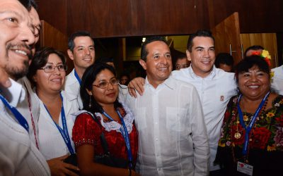 Juntos Quintana Roo, Yucatán y Campeche hacemos de la Península la primera región de México con un desarrollo económico sustentable, con más y mejores oportunidades para nuestra gente: Carlos Joaquín