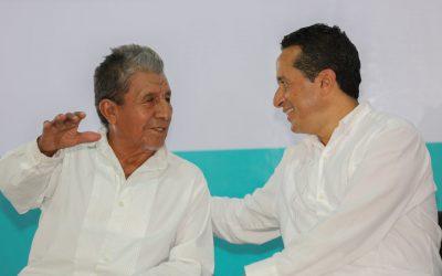 """((FOTOS)) El Gobernador Carlos Joaquín asiste al U MUU´CH´ TABAL LAA ´TZILOO´B"""", Encuentro Entre Hermanos en Felipe Carrillo Puerto."""