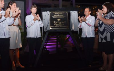 ((AUDIO)) Mensaje del Gobernador Carlos Joaquín durante la inauguración del Hotel Dreams Playa Mujeres