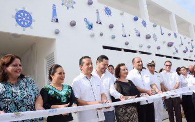 ((AUDIO)) Mensaje del Gobernador en la inauguración del edifico de administración y servicio APIQROO de la Marina Cozumel