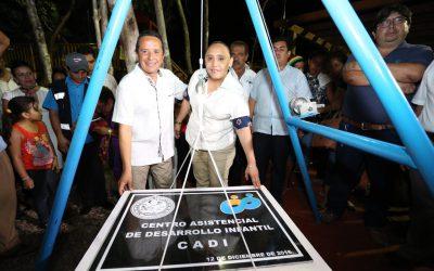 ((AUDIO)) Mensaje del Gobernador Carlos Joaquín durante la colocación de la primera piedra del Centro de Asistencia y Desarrollo Infantil
