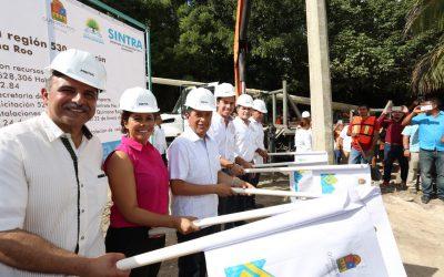 ((AUDIO)) Mensaje del Gobernador Carlos Joaquín durante el banderazo de inicio de la construcción de obras de electrificación en Cancún