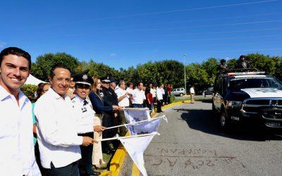 ((VIDEO)) El Gobernador Carlos Joaquín da el banderazo de inicio del año Operativo Invierno 2016