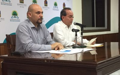 ((AUDIO)) Mensaje del Secretario de Gobierno Francisco López Mena en conferencia de prensa está mañana en Chetumal