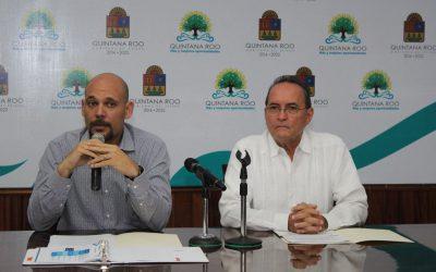 ((AUDIO)) Mensaje del Secretario de la Gestión Pública Rafael del Pozo Dergal  en conferencia de prensa está mañana en Chetumal