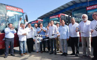 Modernizamos el transporte público para un mejor Quintana Roo: Carlos Joaquín