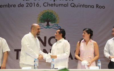 """((FOTOS)) El Gobernador Carlos Joaquín presenta la """"Línea de Denuncia Ciudadana"""" #No+Tranzas"""