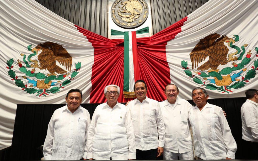 ((VIDEO)) Mensaje del Gobernador Carlos Joaquín en el Congreso del Estado durante el 42 Aniversario de la Constitución del Estado Libre y Soberano de Quintana Roo