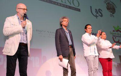 ((AUDIO)) Mensaje del Gobernador Carlos Joaquín previo al III Festival Cultural Italiano en el teatro de Playa del Carmen.