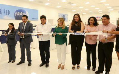 ((AUDIO)) Discurso de la señora Gabriela Rejón de Joaquín, presidenta del DIF Quintana Roo, durante la inauguración del segundo Centro de Atención a Clientes de Telcel en Chetumal, en representación del Gobernador Carlos Joaquín.