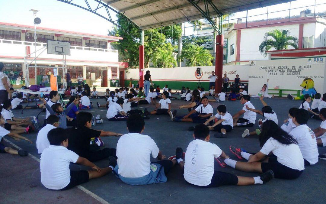 Acciones a fondo para lograr ambientes escolares sanos y mejorar la calidad educativa