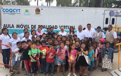 Caravana de la ciencia promueve más y mejores oportunidades para la población