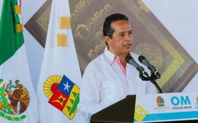 ((AUDIO) Mensaje del Gobernador Carlos Joaquín durante la celebración del Centenario de la Promulgación de la Constitución Política de los Estados Unidos Mexicanos