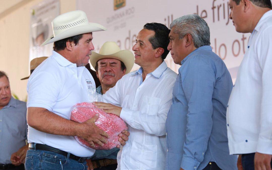 Así atendemos la desigualdad, con programas de producción para las familias rurales: Carlos Joaquín