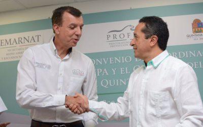 Trabajo en conjunto para preservar los recursos naturales en Quintana Roo: Carlos Joaquín