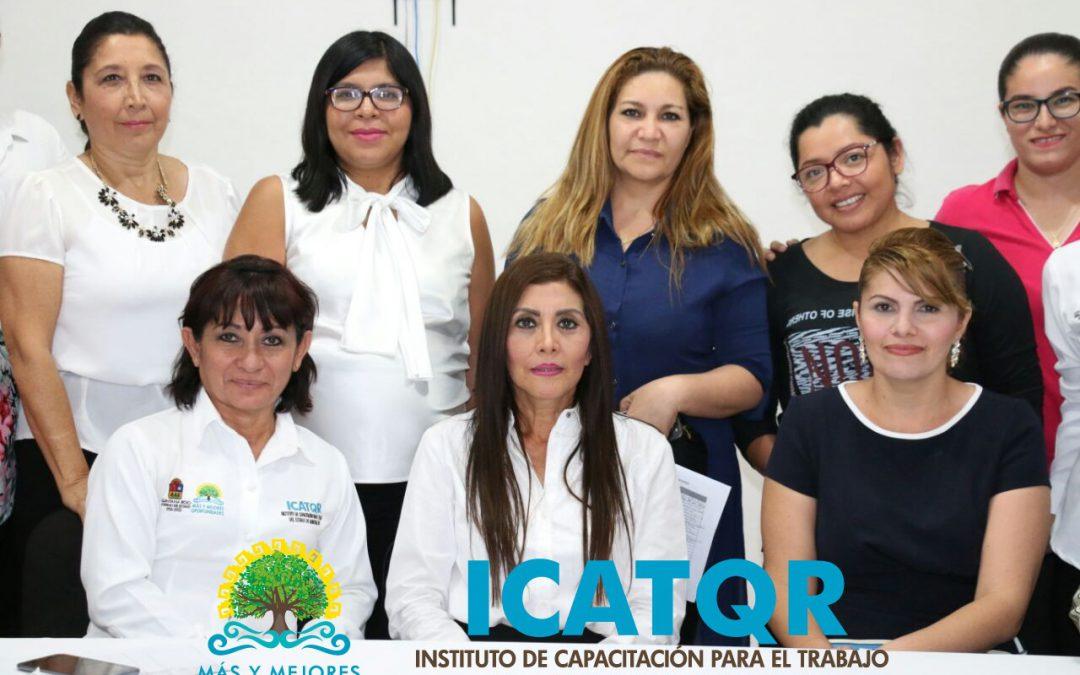 Se renueva voluntariado de Icatqr para generar acciones en beneficio de los quintanarroenses
