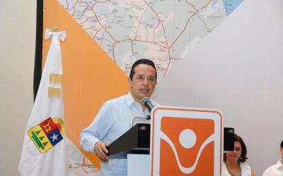 ((AUDIO)) Mensaje del Gobernador Carlos Joaquín en la Reunión Regional de Patronatos y Directores Sur Sureste