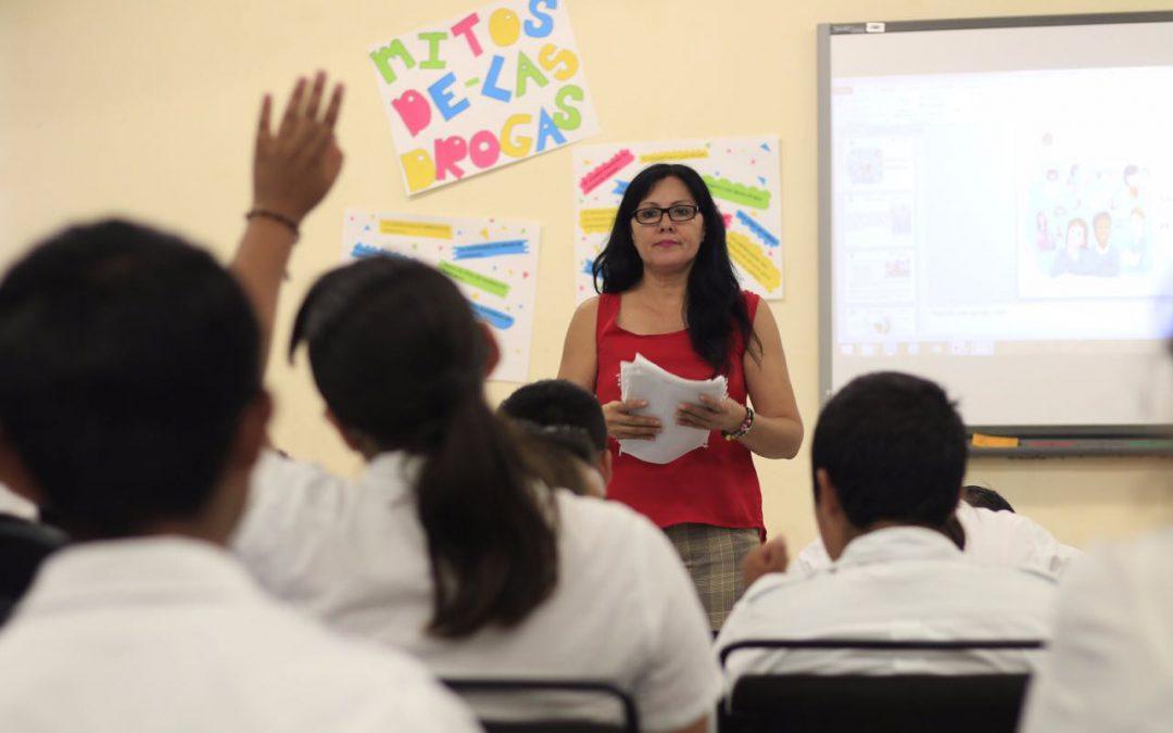 Autoridades y sociedad civil se unen para fortalecer esquemas de prevención en estudiantes