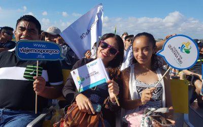 Con oportunidades para todos, familias de Quintana Roo disfrutan el paraíso natural y turístico