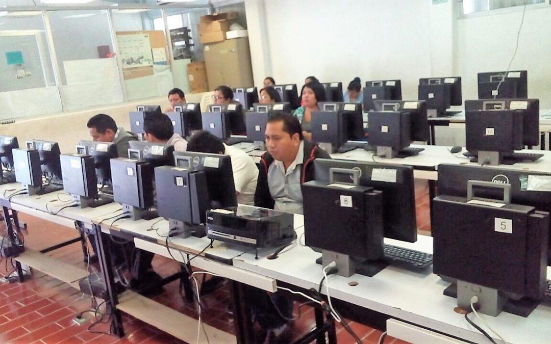 Con una participación del 95.8% maestros realizan su evaluación del desempeño