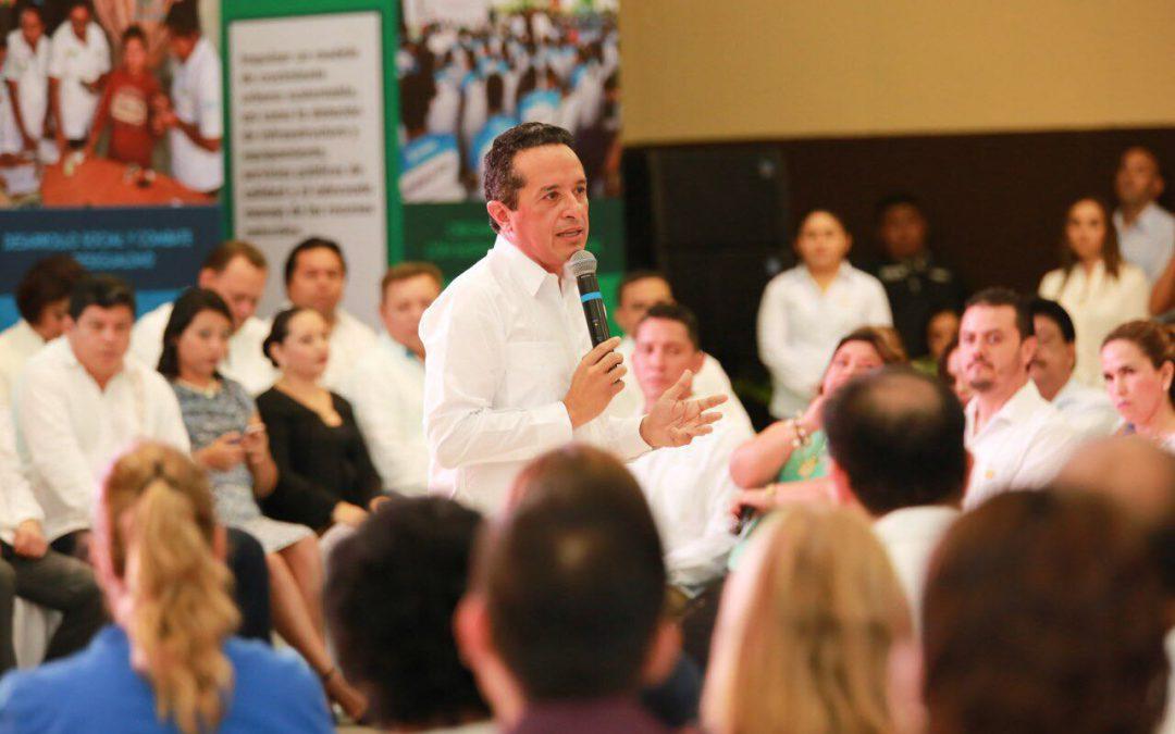 Construyamos juntos un Quintana Roo fuerte sin desigualdad social ni ante la ley: Carlos Joaquín