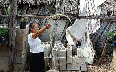 CAPA atiende a la comunidad El Tintal y mejora la distribución de agua potable