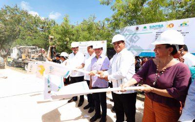 ((FOTOS)) El Gobernador Carlos Joaquín da el banderazo de inicio de obras para las colonias Fraternidad y Mártires Antorchistas