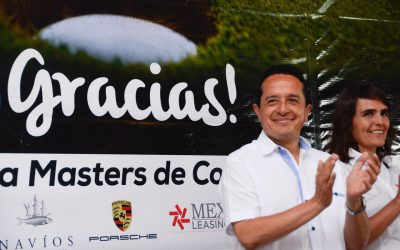 """Encabeza Carlos Joaquín la premiación del XIII Torneo de Golf """"Copa Gobernador"""""""