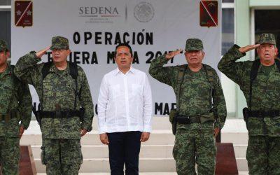 Más seguridad y tranquilidad para las familias y visitantes de Quintana Roo: Carlos Joaquín.