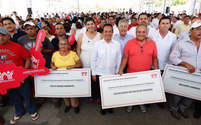 20 mil nuevos créditos de vivienda para Quintana Roo: Carlos Joaquín