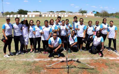 Atletas quintanarroenses de Tiro con Arco y Handball obtienen en Mérida su pase a la etapa nacional de Olimpiada