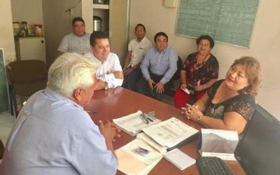 Se habilitarán aulas provisionales del Conalep en la Ribera del Río Hondo