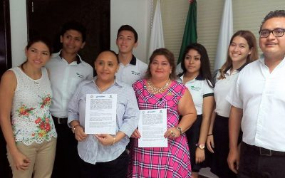 Estudiantes del Conalep harán servicio social y prácticas profesionales en el Ayuntamiento de Solidaridad