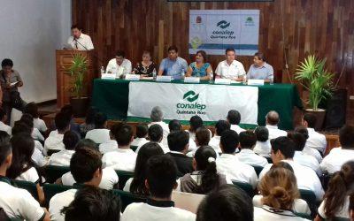 Conalep vincula a sus estudiantes con la Secretaría de Economía para desarrollar sus habilidades como emprendedores