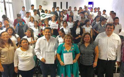 La Canirac y el Conalep Quintana Roo se suman para que más jóvenes estudiantes fortalezcan los procesos de productividad laboral