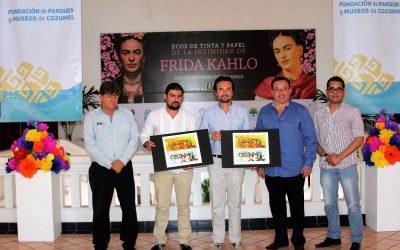 """La FPMC traerá a Cozumel la exposición """"Ecos de tinta y papel de la intimidad de Frida Kahlo"""""""