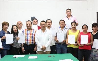 ICATQR trabaja en la profesionalización de los servidores públicos: entrega certificados de competencia laboral