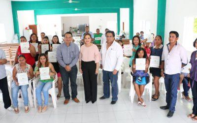 ICATQR y DIF Municipal de OPB suman esfuerzos para capacitación en comunidades